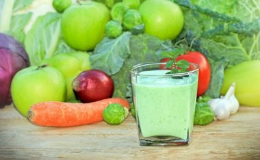 Green smoothie - green juice