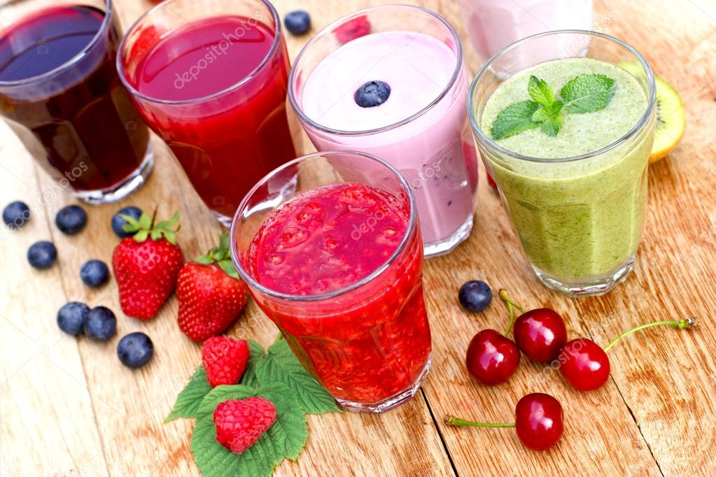 Healthy organic drinks