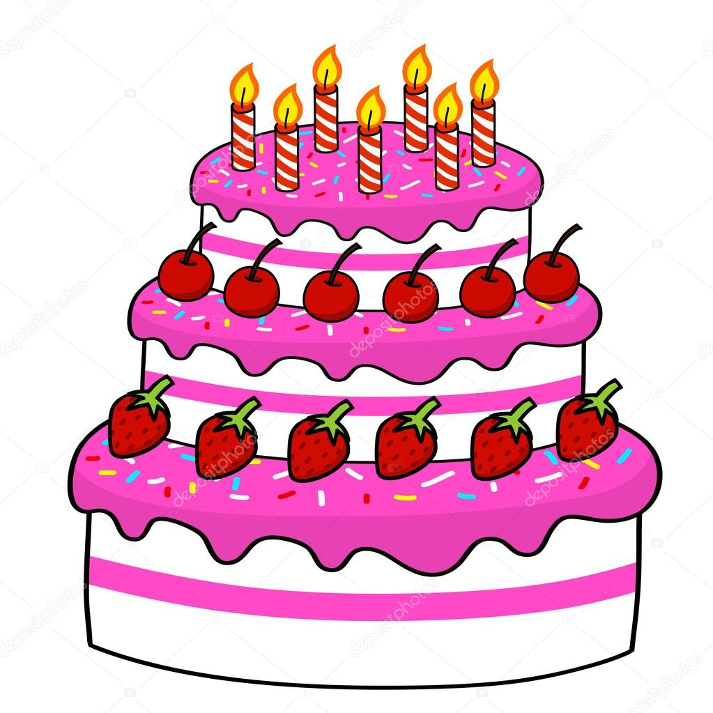 Cartoon cake   Stock Vector ? kanate #13176157
