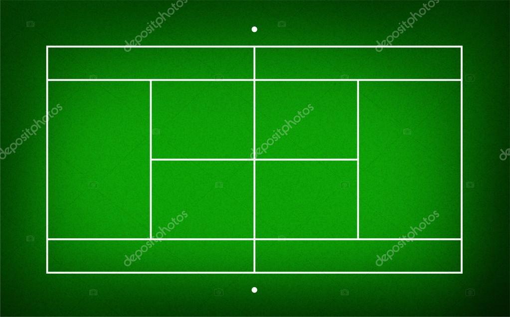 テニスコートのイラスト ストック写真 Kanate 26647713