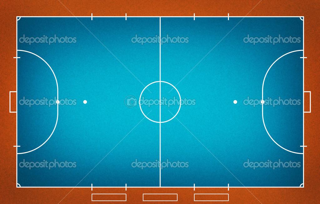campo de Futsal — Fotografias de Stock © kanate  26647827 b043238dc23b3