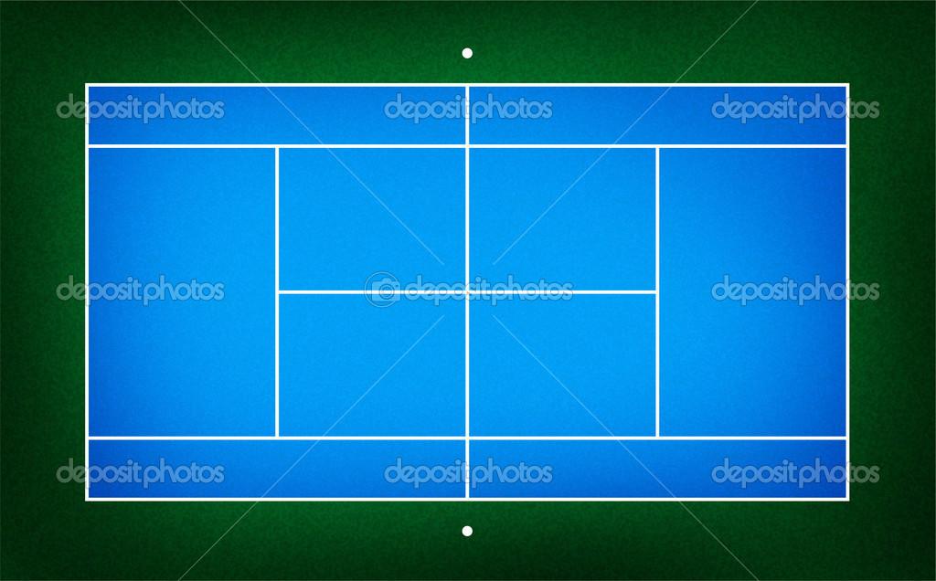 テニスコートのイラスト ストック写真 Kanate 26648069