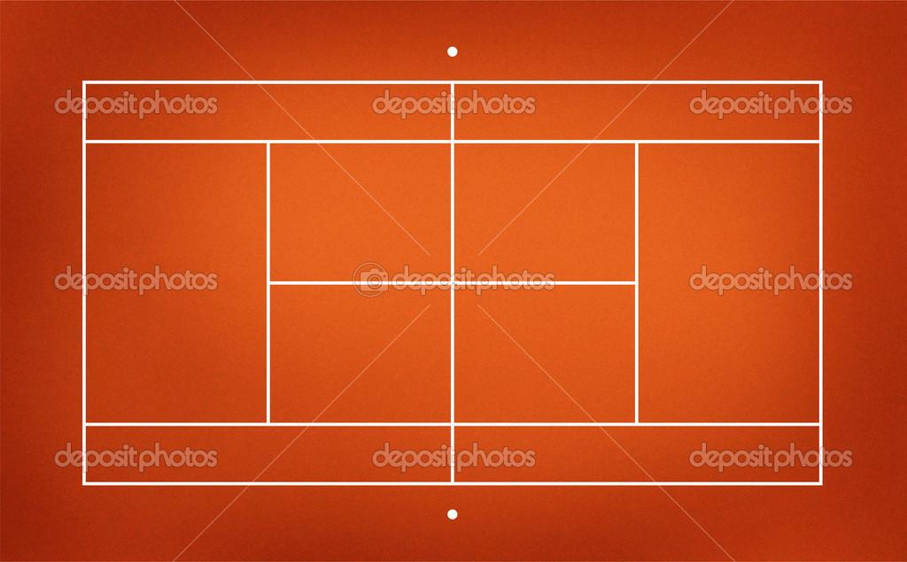 テニスコートのイラスト ストック写真 Kanate 26648429