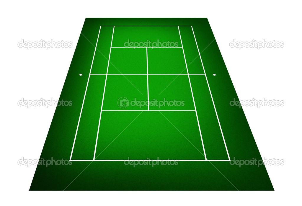 テニスコートのイラスト ストック写真 Kanate 26648539