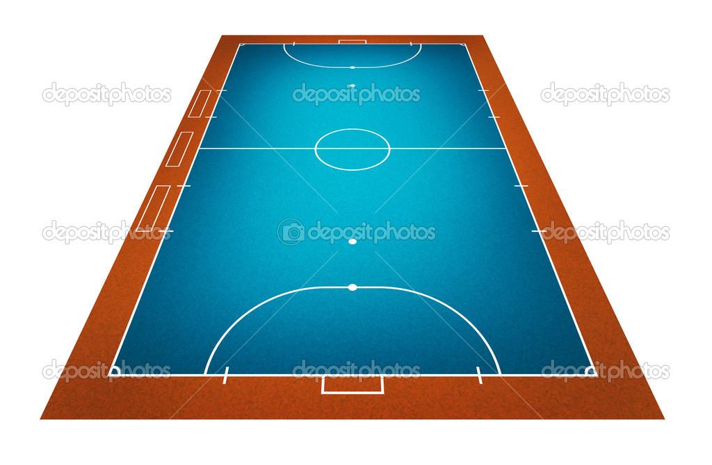 campo de Futsal — Fotografias de Stock © kanate  26648747 ae8b3b3411dfd