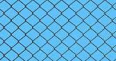 Fotografia recinto di filo di ferro