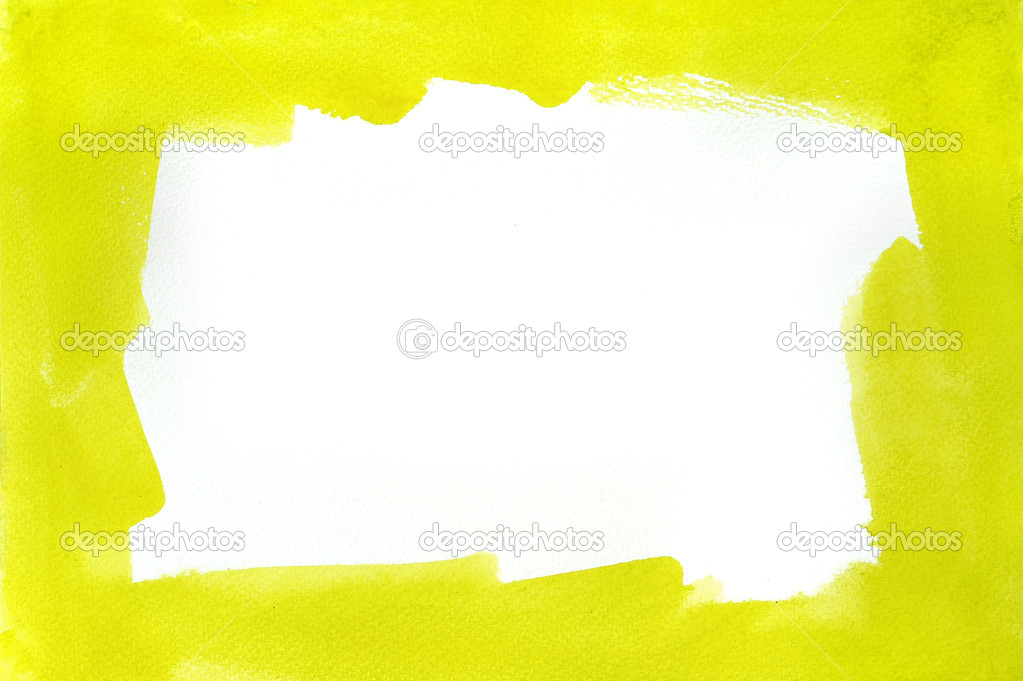 Wasser Farbe Rahmen — Stockfoto © kanate #28191397