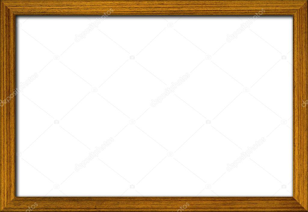 деревянная рамка для фотографий стоковое фото Kanate 28191597
