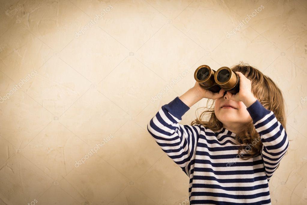 Happy kid looking ahead stock photo yaruta 46473737 happy kid looking ahead stock photo thecheapjerseys Gallery