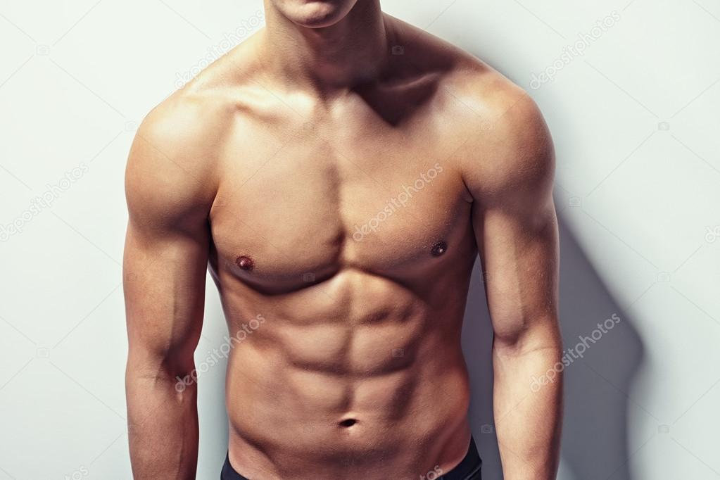 Muscular Torso Of Young Man Stock Photo Gladkov 45562497