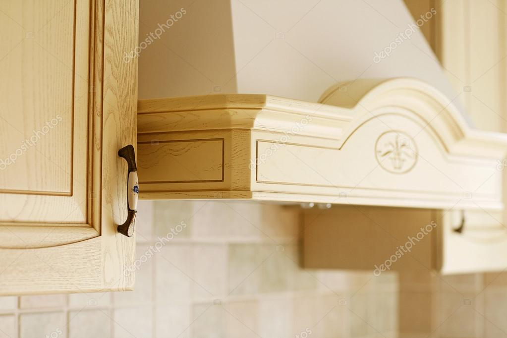 Classic wooden kitchen furniture
