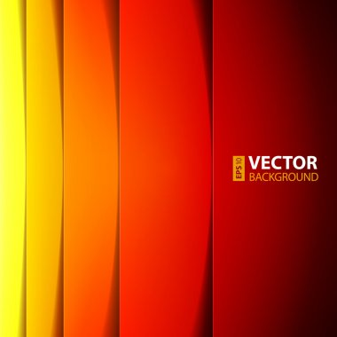 Abstract red, orange and yellow rectangle shapes background. RGB EPS 10 vector illustration stock vector