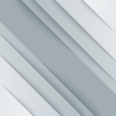 Abstract background with white paper layers
