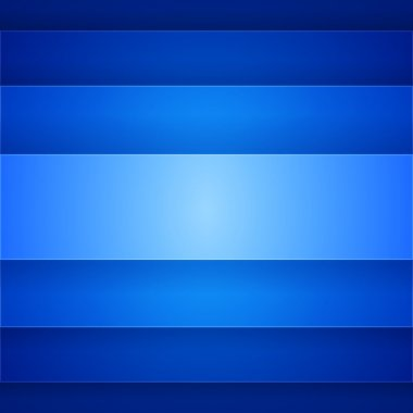 Abstract blue rectangle shapes background
