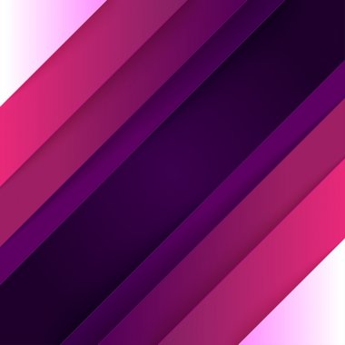 Abstract background with purple paper layers