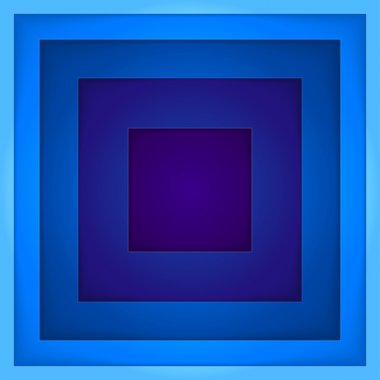 Abstract blue rectangle shapes