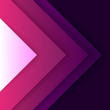 Abstract purple triangle shapes background