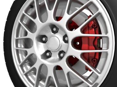 Wheels stock vector