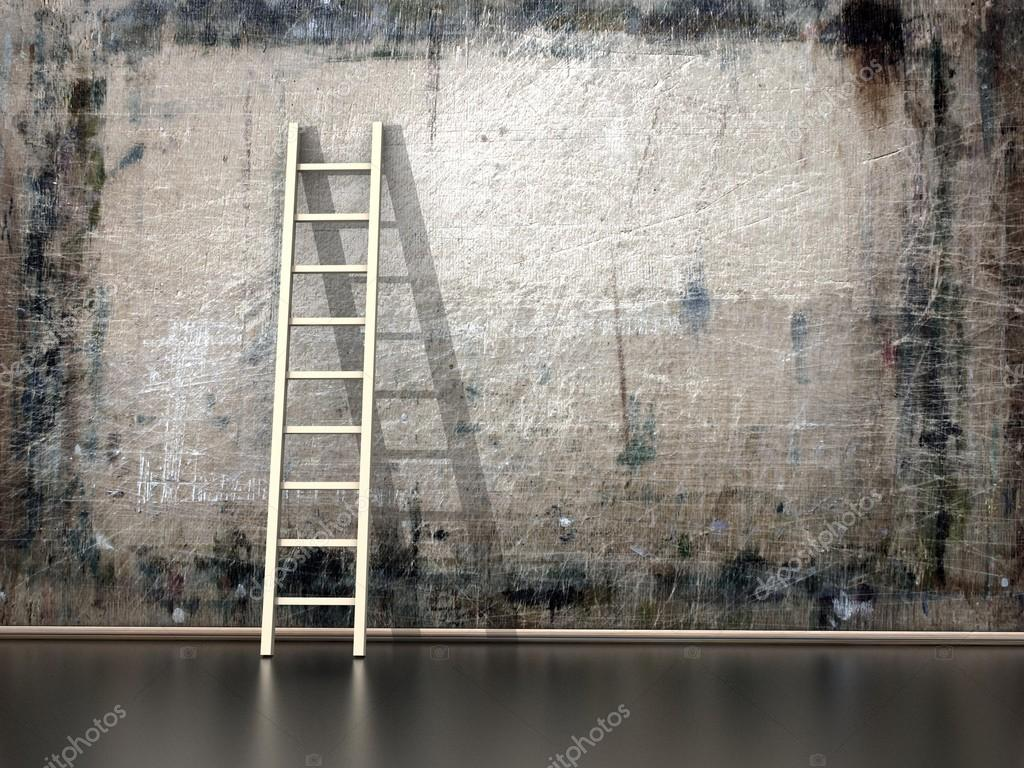 Wooden Ladder Pictures Wooden Ladder Stock Photos Images Depositphotos