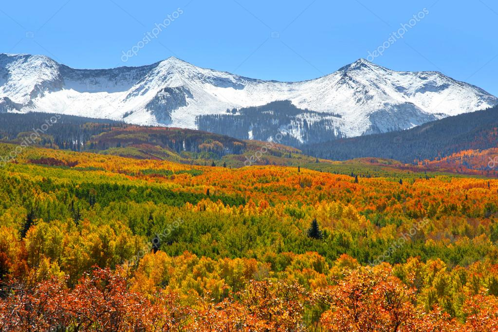 Kebler pass landscape