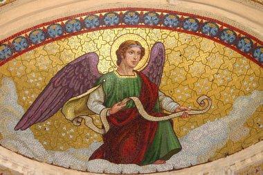 Mosaic of an angel