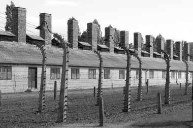 Barracks at Auschwitz