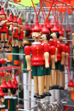 Pinocchio, the italian wooden puppet