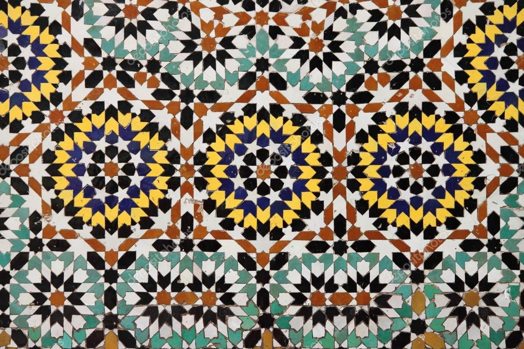 Mosaico marocchino u foto stock alessandro
