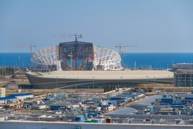 Construction of olympic stadium