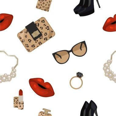 Leopard fashion endless pattern
