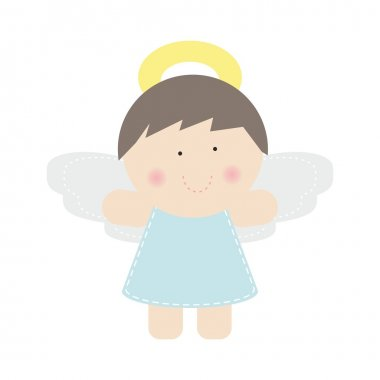 Small cute angel