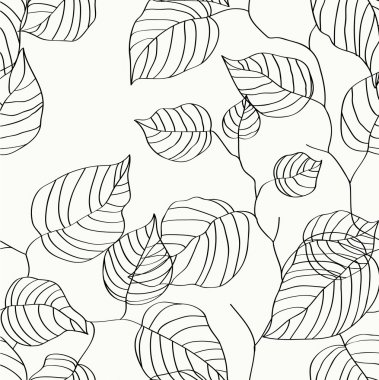 Wallpaper leaves