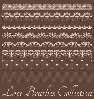 Laces Brushes Set