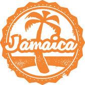 Photo Jamaica Travel Stamp
