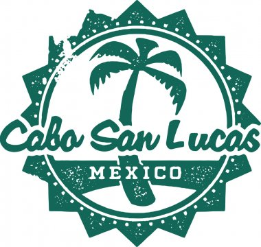 Cabo San Lucas Mexico Vacation Stamp