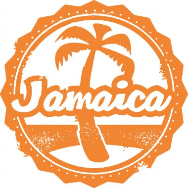Jamaica Travel Stamp