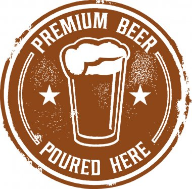 Premium Beer Poured