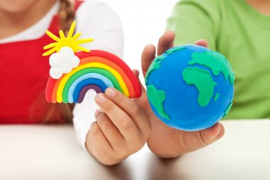 Environmental awareness and education concept