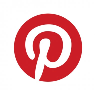 Original red Pinterest Web Icon