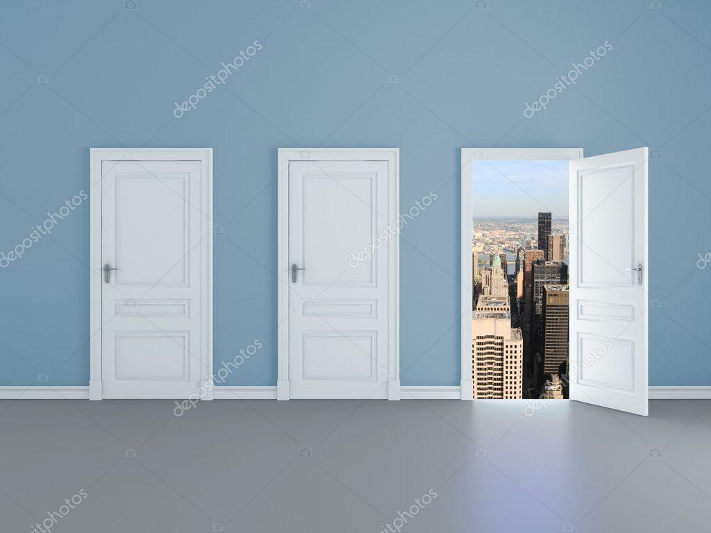 Door to manhattan