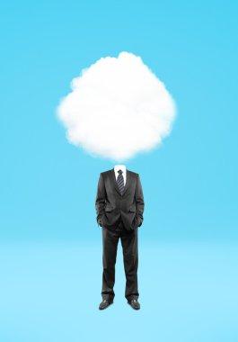 Man cloud head
