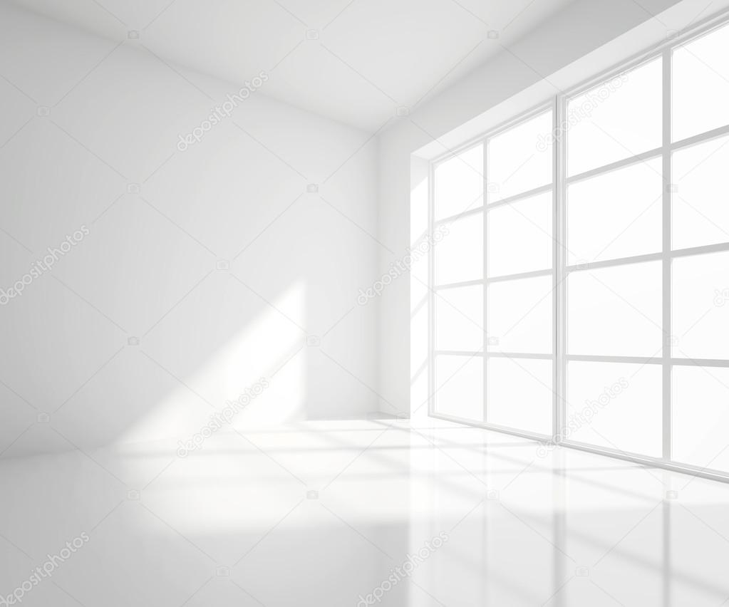 White room — Stock Photo
