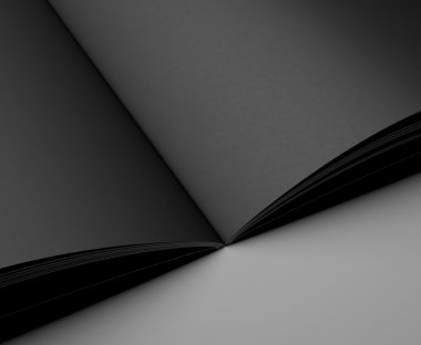 black pages