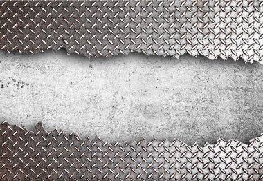 torn metal texture