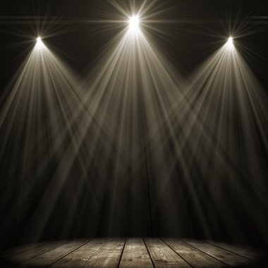 three stage spot lighting