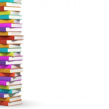 colorful colorful books