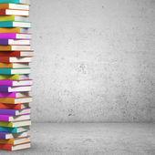 Photo colorful books