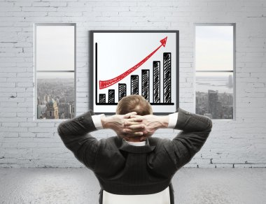 Growth chart on poster