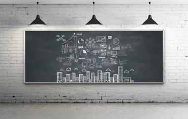 strategy on blackboard