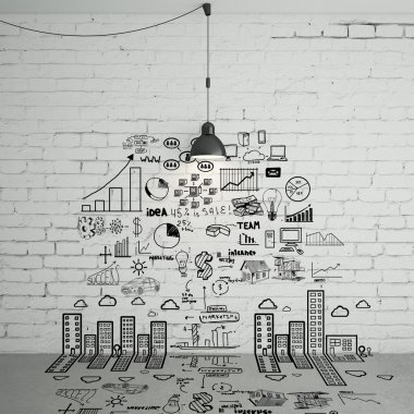 drawing business concept